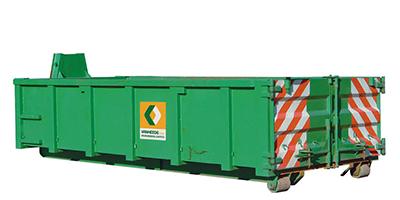 Open top container 10m³ - C10